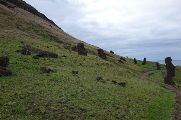 Nationalpark Rano Raraku Osterinsel