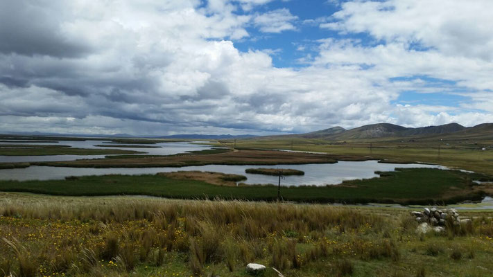 Lago de Chinchaycocha im Nationalpark von Junin