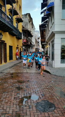 Stadtlauf in Cartagena