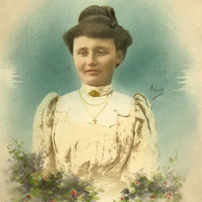 Isidora im 1906