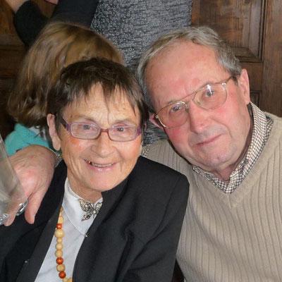 2009 - Françoise et Alphonse ROBERT aux 80 ans d'Alphonse