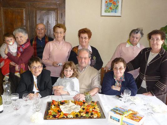 2009 - Alphonse ROBERT und seine Geschwister, zu seinem 80. Geburtstag