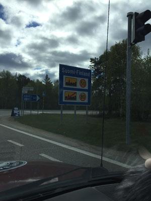 Finnland erreicht