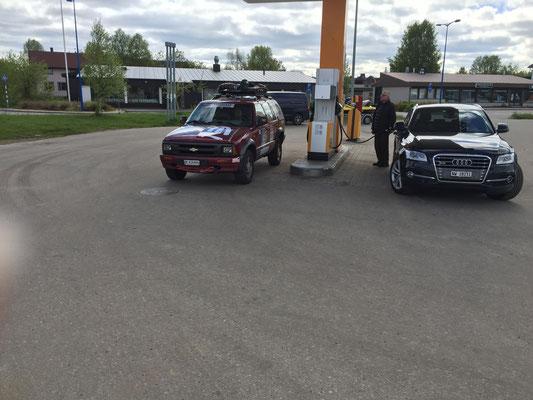 Schweizer trifft man überall - auch in Finnland