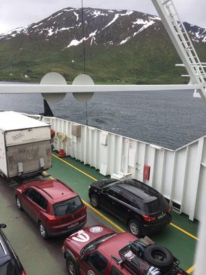 Einmal Fähre muss schon sein in Norwegen...