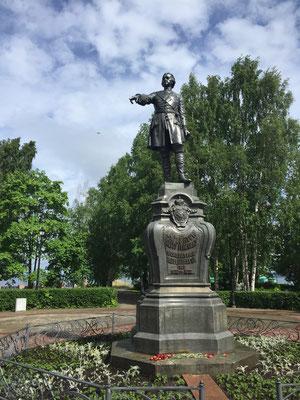 Peter der Grosse - Gründer von Petrosawodsk