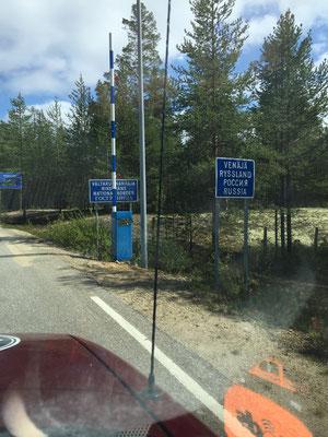 Grenze zu Russland