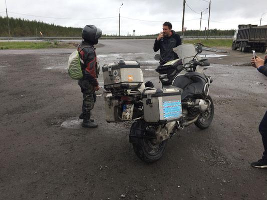 Von China nach St. Petersburg,  Murmansk ans Nordkapp durch Norwegen zurück nach Deutschland