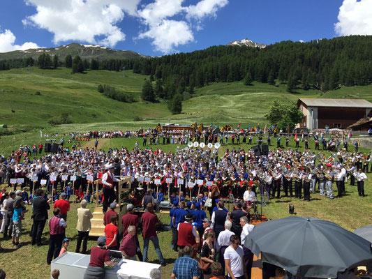 Bezirksmusikfest Ftan 2015