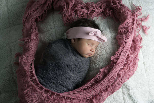 Babyfoto von schlafendem Kind