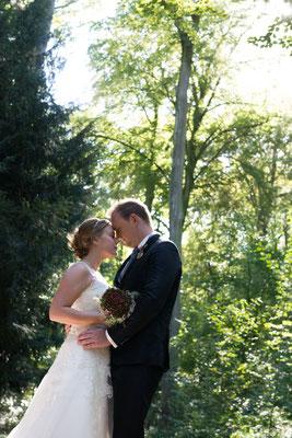 Afterwedding Shooting im Sonnenlicht