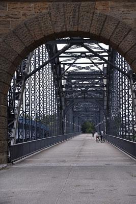 Alte Süderelbbrücke.