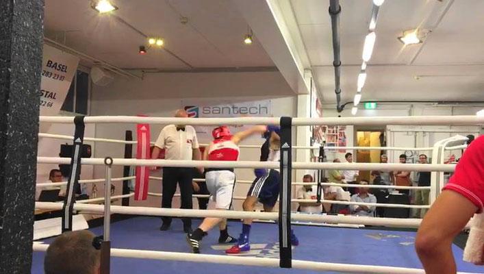 Box-Ring Zürichsee ist stolz auf Hamzat