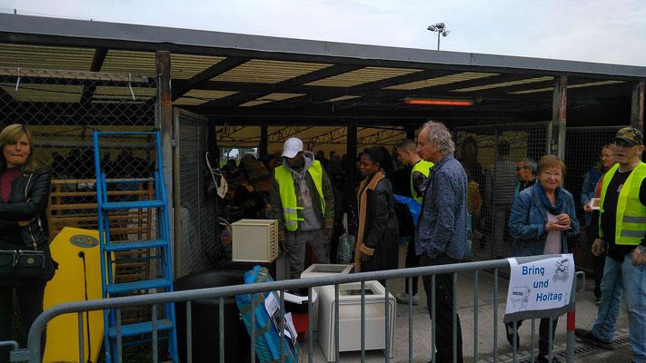 BRZ hilft am Bring-&Holtag, Umweltamt Horgen 2019