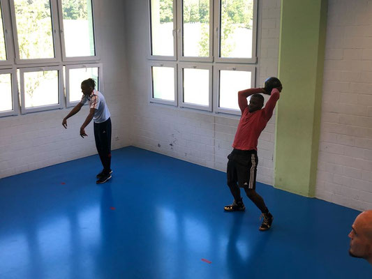 30.Mai 2020 BRZ Horgen trainiert in Schaffhausen