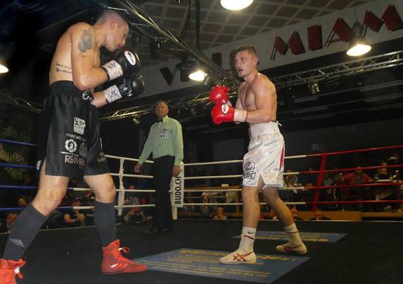 Hiseni WBC Weltmeistertitel - Villa Miami, CH - Glattbrugg