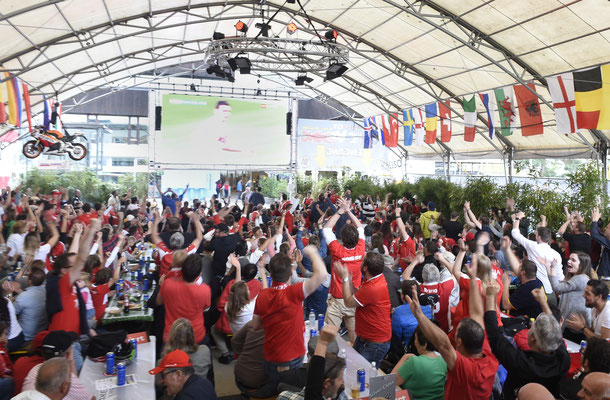 Lakeside-Emotions EM16 Schweiz vs Albanien
