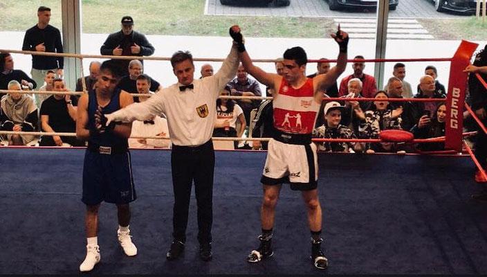 13.4.2019 in Rottweil (D), Winner - Davit vom Box-Ring Zürichsee Horgen