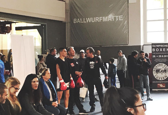 für den BRZ stieg Davit Gadzhiev in Zürich in den Ring