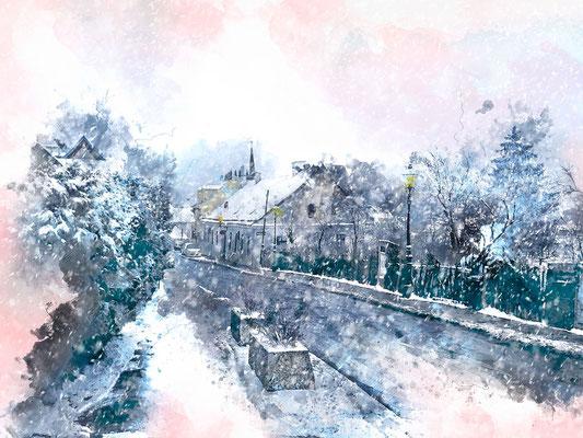 Winter, Neustift/Walde, Wien