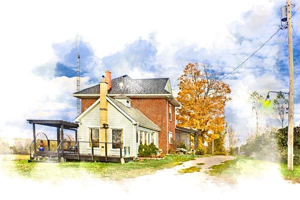 Farmhouse, Ontario, Canada