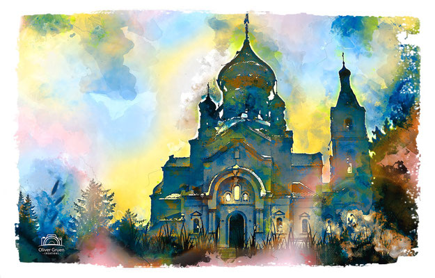 Orthodoxe Kirche, Mukachevo, Ukraine