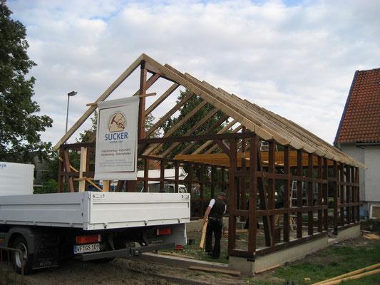 Holzständer- und Fachwerkbauten