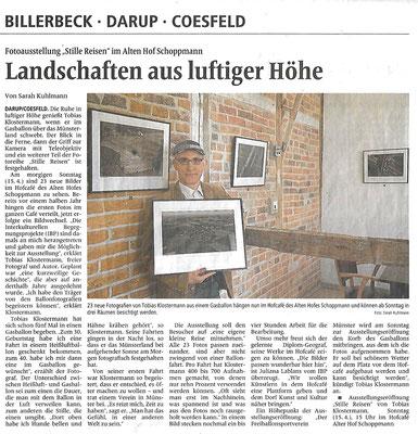 Quelle: Coesfelder Allgemeine Zeitung vom 14.04.2018. Wiedergabe mit freundlicher Genehmigung der Redaktion.