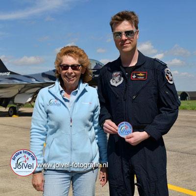 Vador Force,Belgian F16 solo diaplay Pilot