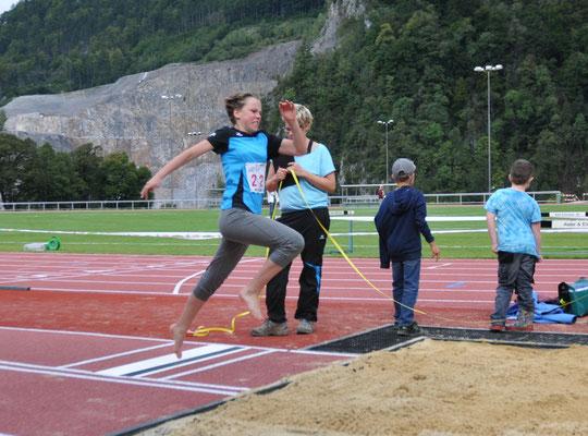 Leichtathletik Sept. 17: Mustergültiger Absprung im Weitsprung