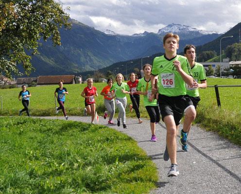 Leichtathletik Sept. 17: Startläufer im 5 x 1000m nach 150m