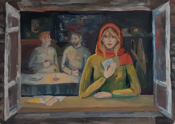 Шелест Ксения, 14 лет
