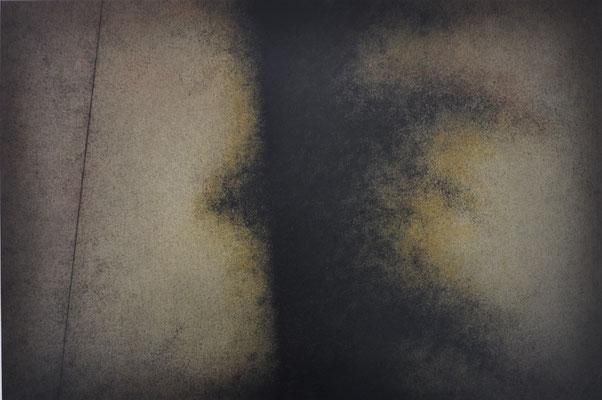 Posibles II. Mixta s/papel Fabriano. 56x76 cm. 2018