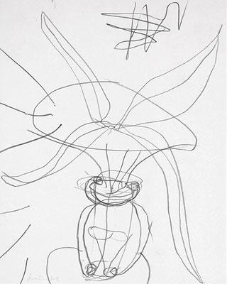 2018.31. Grafito / papel. 31,5 x 25 cm. Fuentemilanos, 2018