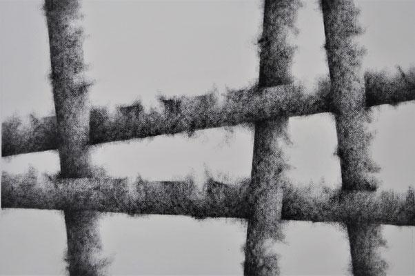 Estallidos I. Mixta s/papel Fabriano. 50x70 cm. 2017
