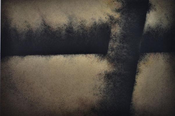 Posibles VI. Mixta s/papel Fabriano. 56x76 cm. 2018
