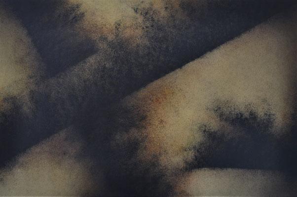 Posibles III. Mixta s/papel Fabriano. 56x76 cm. 2018