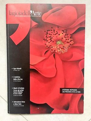 Pubblicazione con opere di Chelita e critica d'arte di Paolo Levi 2019