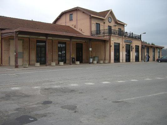 Der Bahnhof - existierte schon vor dem Krieg