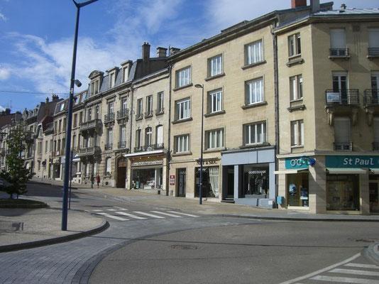 Blick in die Rue Saint-Pierre