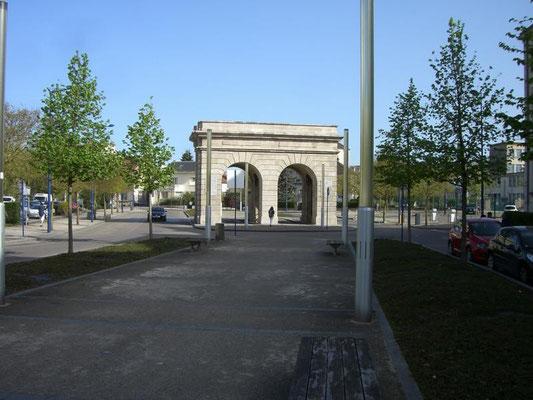 Porte St. Paul aus der anderen Blickrichtung