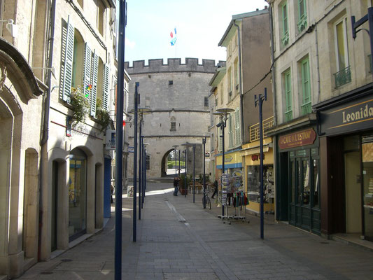 Rue Chaussee - heute ein nettes kleines Geschäftssträßchen