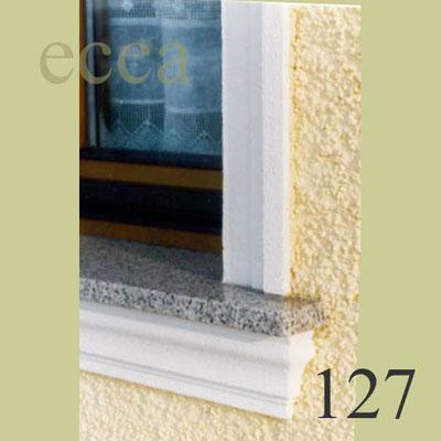ecca Bild 127: Fensterumrandung,Sohlbank unter Granitfensterbrett