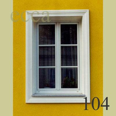 ecca Bild 104: Fassadendekor mit Aussenstuckprofilen