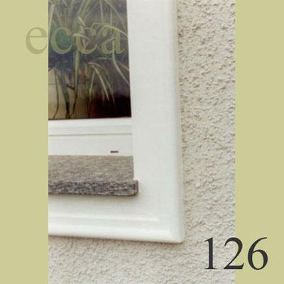 ecca Bild 126: Detail: Fassadenprofil,Granitfensterbrett