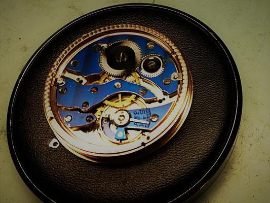 Restauriertes Uhrwerk