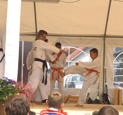 Bruchtest Taekwon-Do