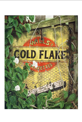 Gold Flake // oil on canvas