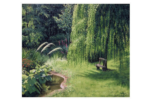 Seat under the willow