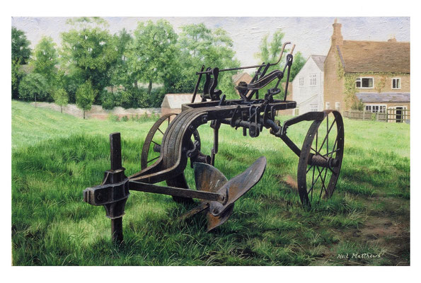 The Plough // oil on canvas
